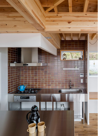60平米一居室田园风格厨房装修效果图