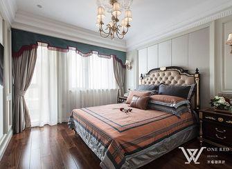 140平米三室两厅法式风格书房图片