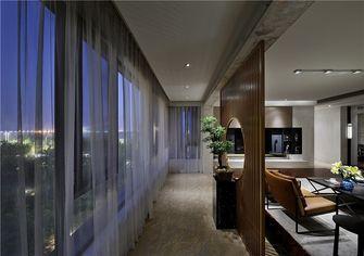 110平米三室两厅中式风格走廊图片大全