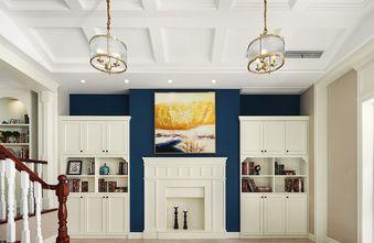 140平米一室两厅欧式风格楼梯间图