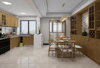 140平米中式风格餐厅装修案例