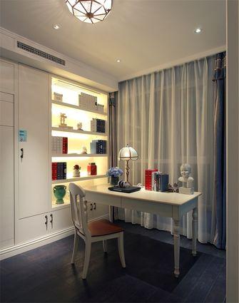 140平米四室四厅田园风格书房装修效果图