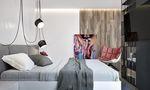 60平米一室两厅宜家风格厨房装修案例