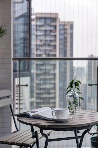 140平米四法式风格阳台装修图片大全