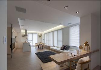 90平米三日式风格客厅图片