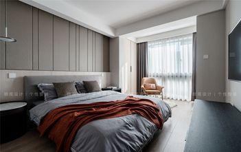140平米三室两厅现代简约风格卧室设计图
