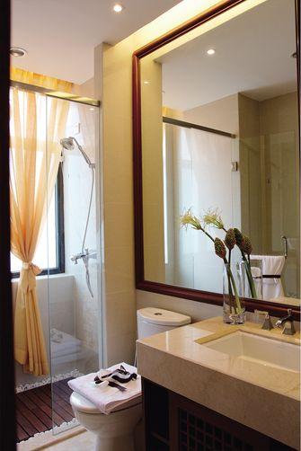 110平米三室一厅东南亚风格卫生间装修案例