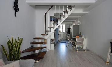 80平米复式宜家风格楼梯间设计图