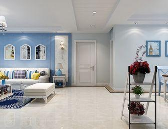 120平米三室三厅地中海风格客厅欣赏图