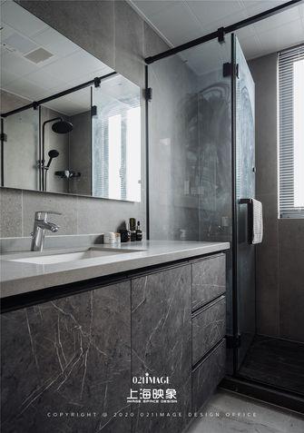 120平米三室两厅混搭风格卫生间设计图