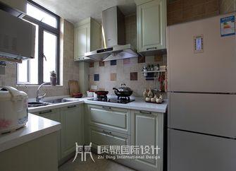 10-15万100平米三室两厅田园风格厨房图片
