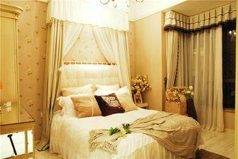 140平米四室一厅田园风格卧室图片