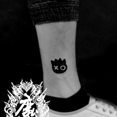 脚踝纹身图