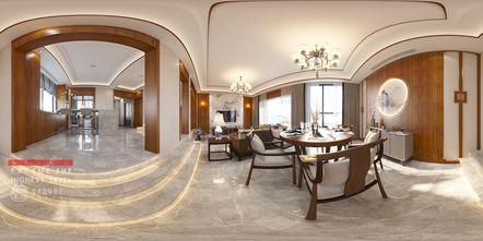 豪华型140平米别墅中式风格餐厅图