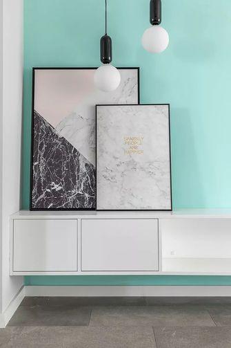 50平米一居室现代简约风格玄关图片