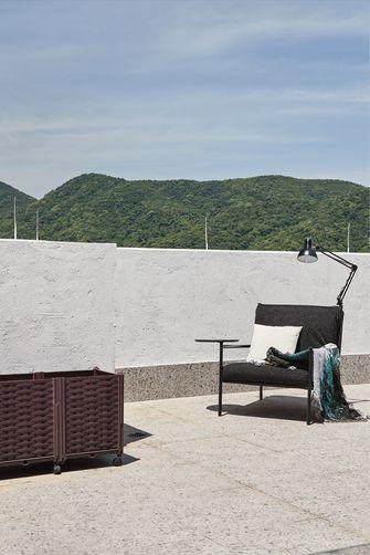 140平米复式美式风格阳台装修案例