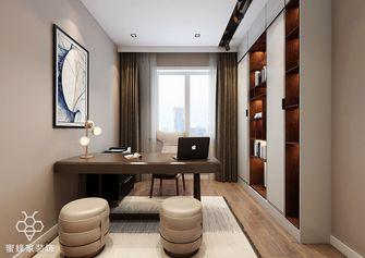 140平米四室四厅现代简约风格书房图