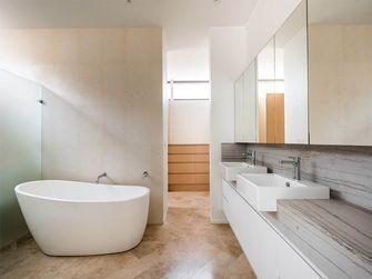 80平米三室一厅现代简约风格卫生间效果图