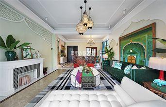 140平米四室两厅东南亚风格客厅装修效果图