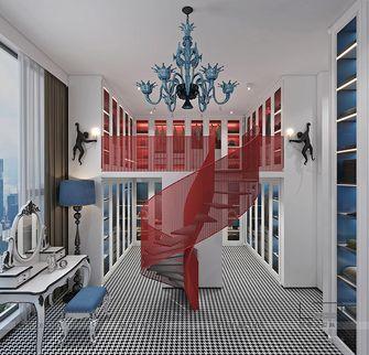 豪华型140平米别墅混搭风格楼梯间图