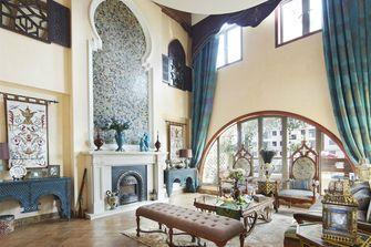 富裕型120平米四室两厅法式风格客厅欣赏图