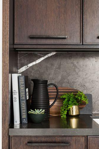 90平米三室两厅混搭风格厨房设计图