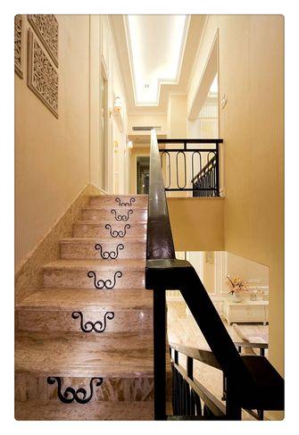 20万以上140平米别墅北欧风格楼梯效果图