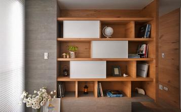 140平米三室三厅日式风格书房效果图