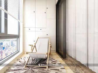 70平米三室两厅北欧风格阳台装修效果图