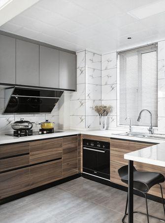 140平米复式北欧风格厨房图片