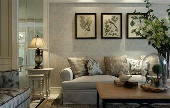 120平米公寓美式风格客厅图