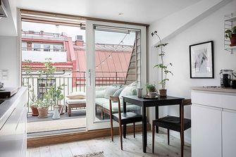 80平米一室一厅北欧风格阳光房装修效果图
