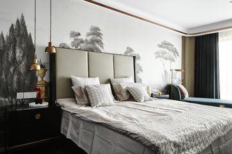 120平米三室两厅现代简约风格卧室装修图片大全