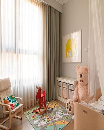 70平米三室一厅美式风格儿童房图