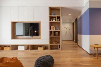 140平米三室两厅日式风格玄关图