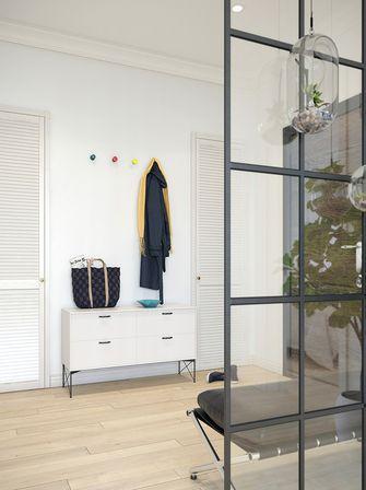 经济型120平米三室一厅英伦风格阳台设计图