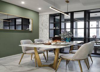 120平米三室两厅现代简约风格餐厅效果图