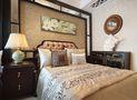 120平米三室一厅新古典风格卧室装修案例