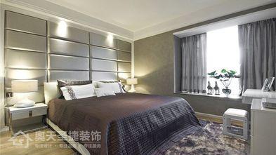 经济型110平米三室一厅现代简约风格卧室图