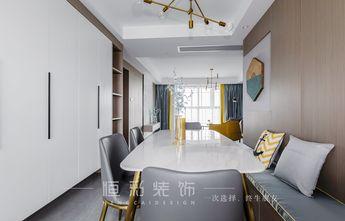 20万以上130平米三室两厅现代简约风格餐厅图