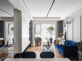 80平米三现代简约风格客厅图片