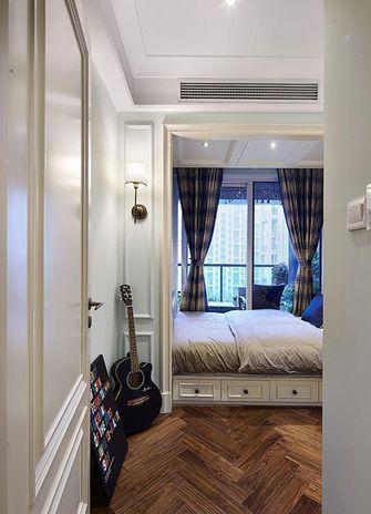 100平米三室一厅美式风格卧室装修案例