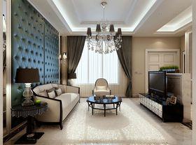 15-20万120平米三室一厅法式风格客厅装修案例