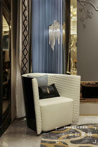 140平米复式现代简约风格书房设计图