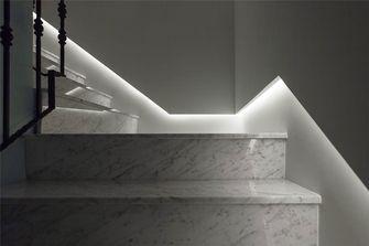 120平米三室一厅新古典风格楼梯间图片大全