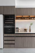 100平米三室两厅法式风格厨房效果图