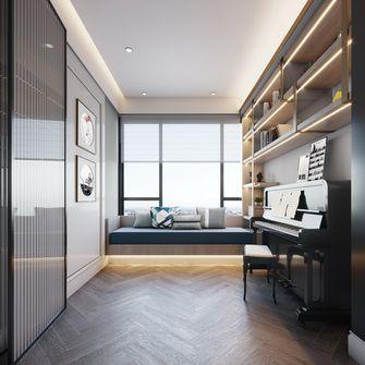 120平米四室两厅现代简约风格书房图