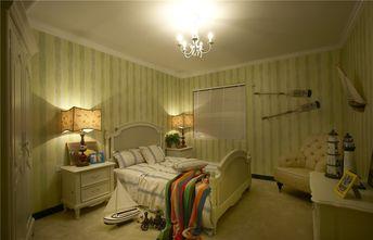 90平米三室两厅地中海风格卧室图片