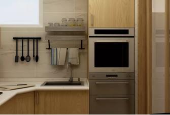 80平米三日式风格厨房图片大全