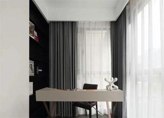 130平米三室一厅现代简约风格书房装修图片大全